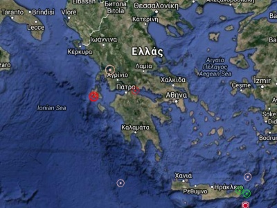 map kefalonia quake