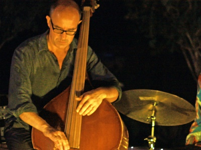 Marc Buronfosse at Paros jazz festival