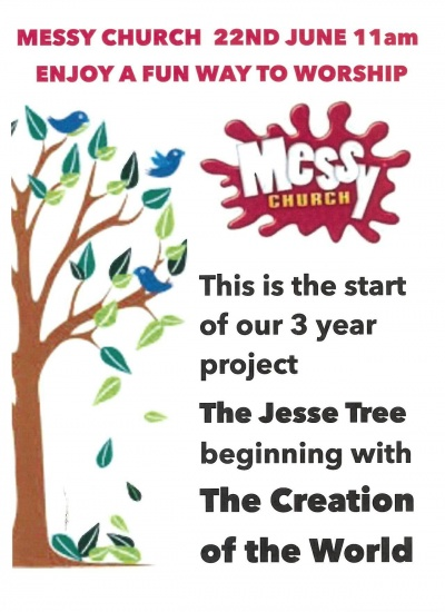Messy church June 2014