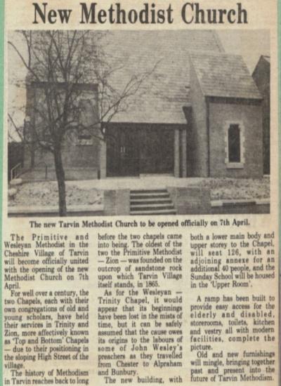 Methodist Opening