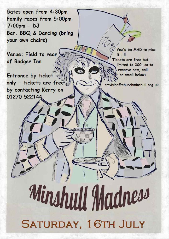 Minshull Madness 2016 Poster