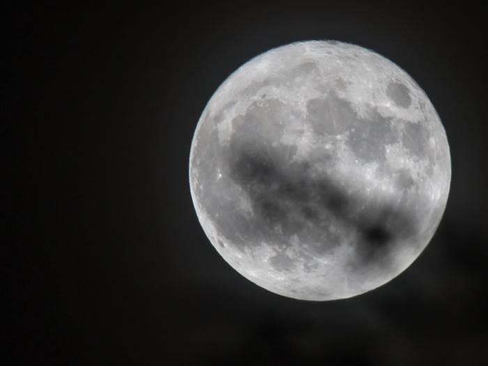 Super Moon Over Church Minshull Home News