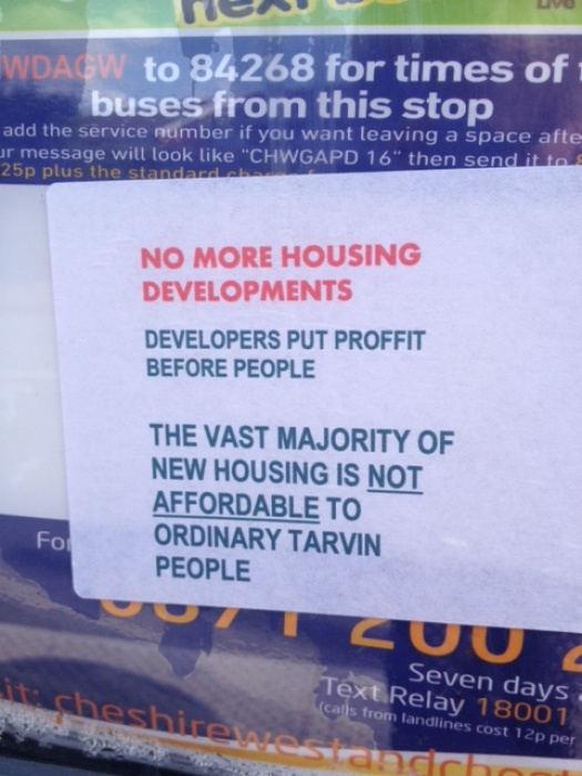 New Housing notice