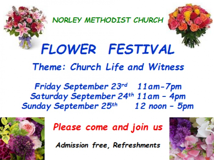 Norley Flower Festival 2016