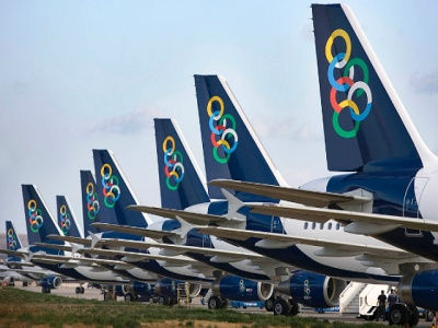 Olympic airways tailfins