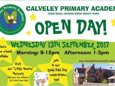 Open Day Calveley