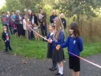 Opening of Woodland Path