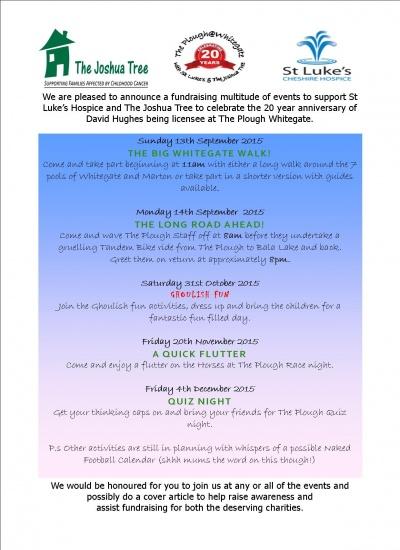 Plough Inn fundraising