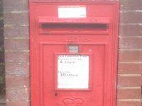 Post Box Heath Lane