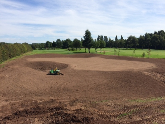 Pryors Hayes Golf Club's New 1st Green