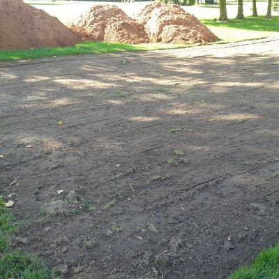 Pryors Hayes start of work on new tee for 5th