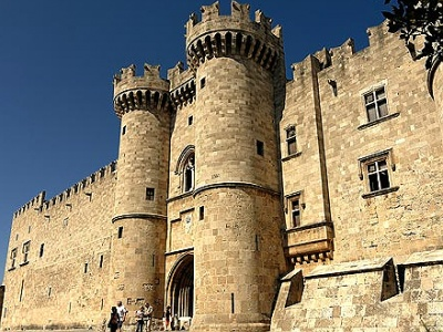 Rhodes castle a major attraction