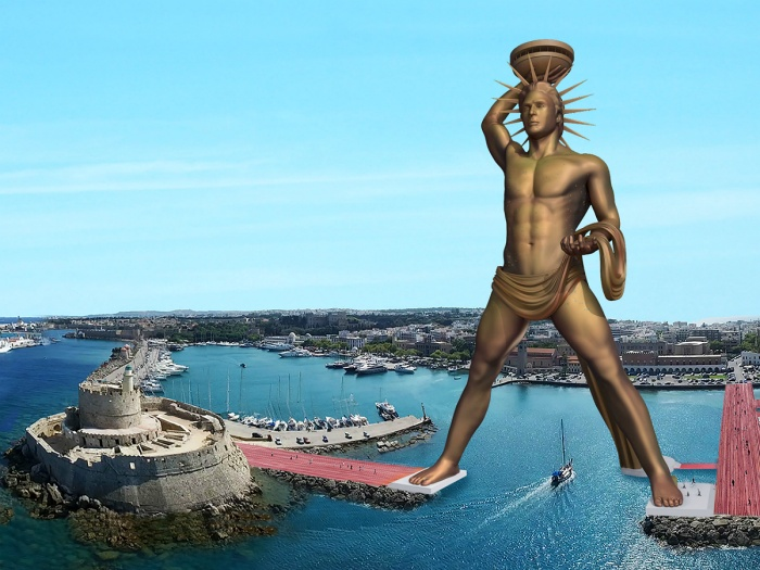 Rhodes may get a new Colossus statue