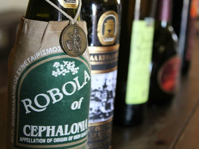 Robola wine from Kefalonia