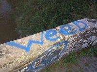 Roman Bridges graffiti