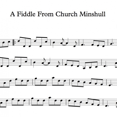 Score - A Fiddle From Church Minshull