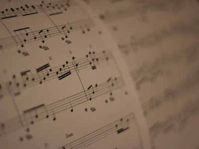 sheet music, entertainment