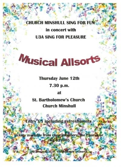 St Barts concert