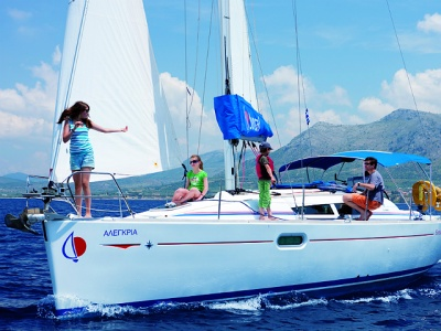 Sunsail boating in the Mediterranean