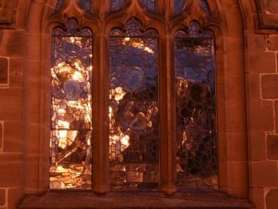tarvin church window