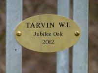 Tarvin oak sign