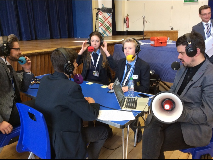 The Claxon Starts The Challenge Live On Air