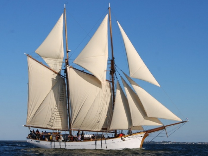The Hoppet Sailing Ship