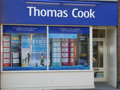 Thomas Cook to close shops