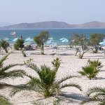 Tingaki beach on the island of Kos