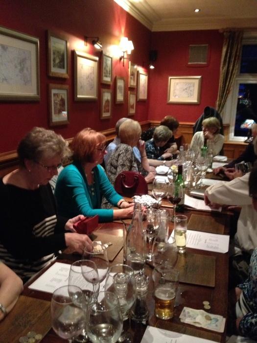 TMP 2016 annual dinner at teh Royal Oak