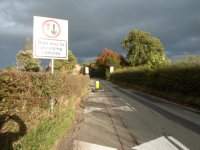 Traffic calming finished