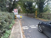 Traffic calming finshed