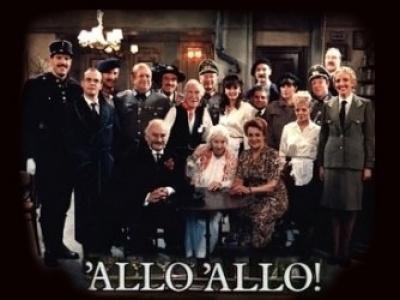 TV Cast of Allo Allo