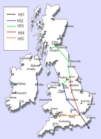 UK HS map