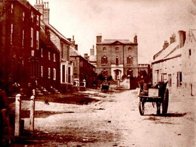 Upper High St & Tarvin Hall