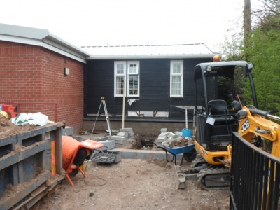 Village Hall works start