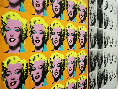 Warhol's Marylin Monroe series