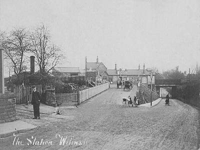 Wilmslow Station 1904