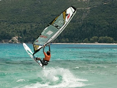 Windsurfer in Lefkas