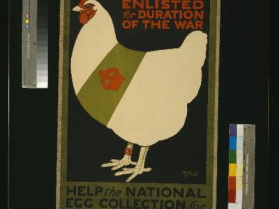WW1 Egg Poster