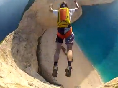 Zante Nagavio cliff diving